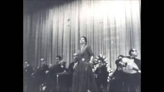 تفاريد كلثومية / أطاوع في هواك قلبي - الأزبكية 6 مايو 1954م