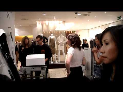 Harvey Nichols- Fashion Night Out- Haberdashery