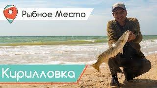 Рыбное место. Ловля пеленгаса в Азовском море. Рыбалка с квадрокоптером.