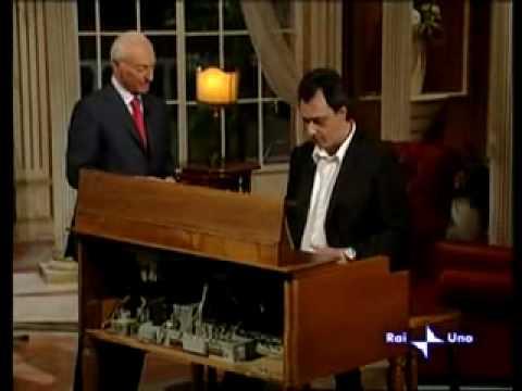 RAI 1 QUARK - Piero Angela parla dell'organo Hammond - Collezione di Toni La Camera