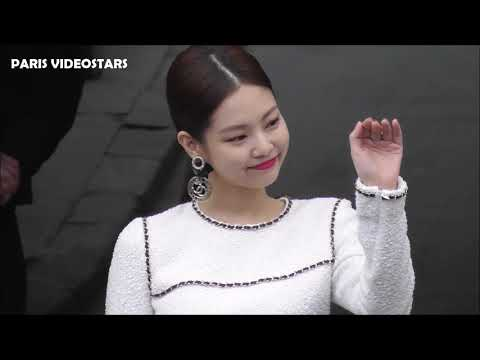 VIDEO Jennie Kim 김제니 Blackpink @ Paris 5 march 2019 Fashion Week show Chanel