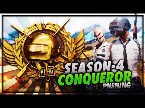 PUBG MOBILE LIVE   SEASON 4 CONQUEROR GAMEPLAY   PUSHING TO TOP 10 PLAYER IN ASIA