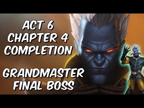 Grandmaster Final Boss Time - Act 6 Chapter 4 Completion - Marvel Contest of Champions