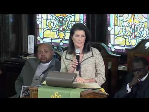South Carolina Governor Nikki Haley Issues a Call to Prayer