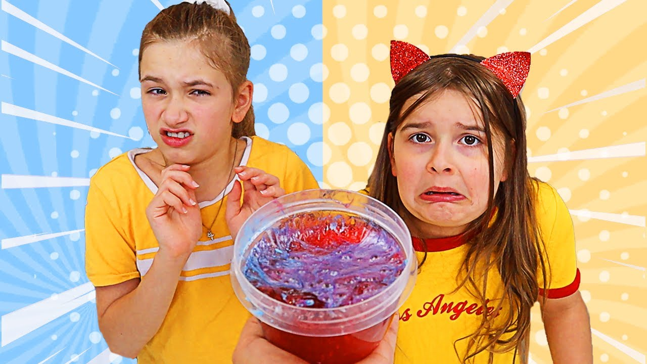 FIX THIS SLIME CHALLENGE! Make it the prettiest slime! | JKrew