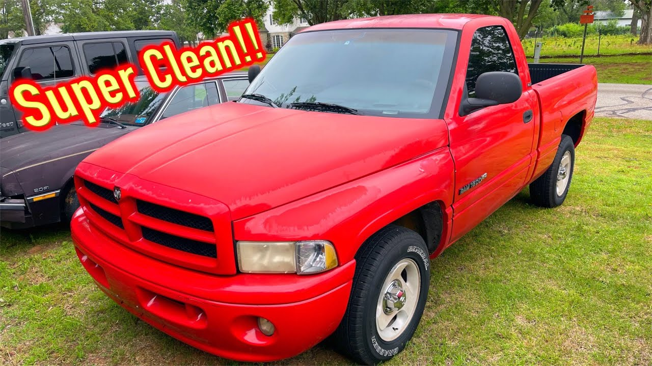 Abandoned 99 Dodge Ram Sport is DONE!! We had Issues! Going up for Sale!!