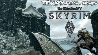 Skyrim Dawnguard Master Lets Play an Archer! EP3