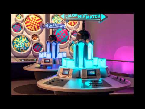 Walt Disney World Epcot Colortopia preview