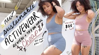 ♻️sustainable & AFFORDABLE activewear try-on  ♻️ | Move Beyond