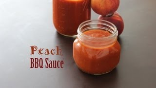 [paleo Cooking] Peach Bbq Sauce