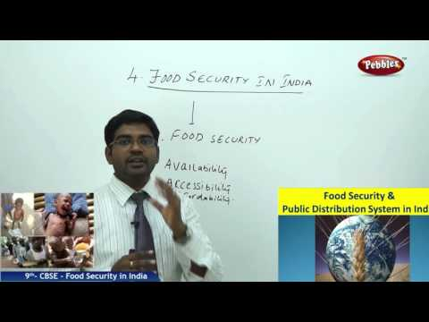 Food Security in India | Class 9th Social Studies | NCERT | CBSE Syllabus | Live Videos