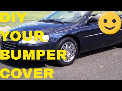 Tips On Removing A Chrysler Sebring Convertible Front Bumper Cover