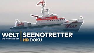 Die Seenotretter - Einsatz bei Wind und Wellen | HD Doku