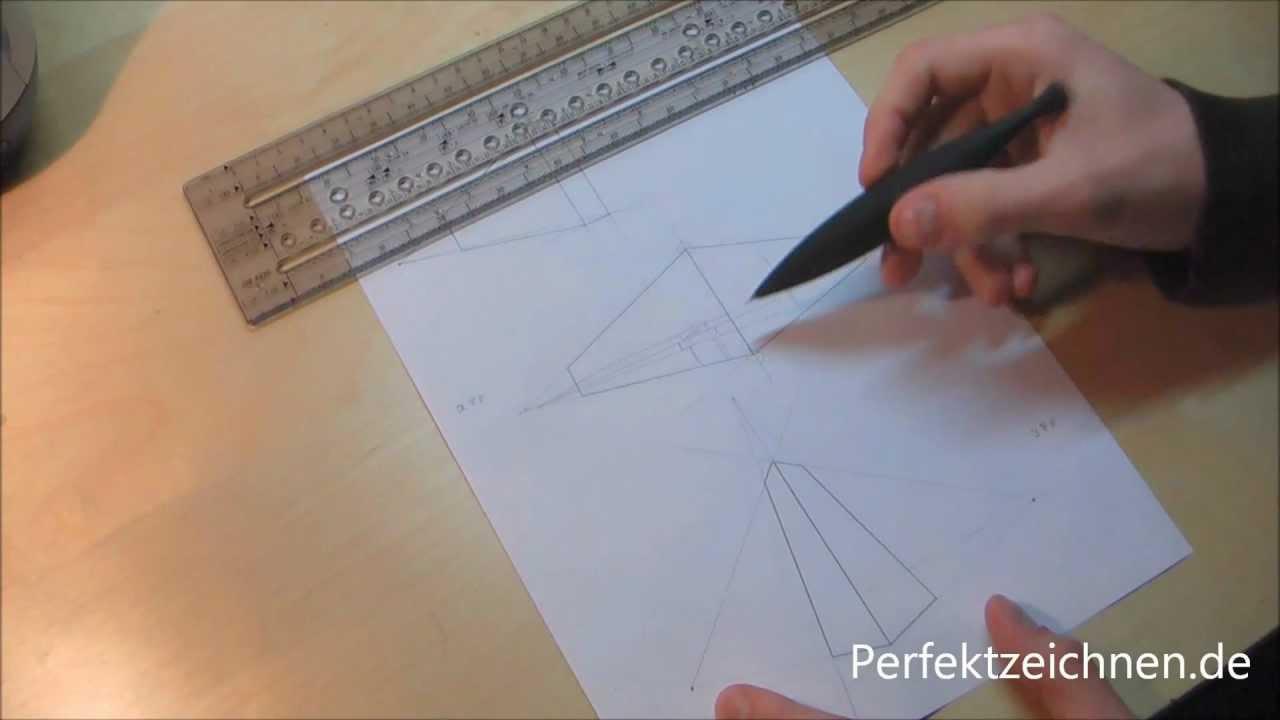 Wichtig Perspektive Zeichnen Lernen Und Verstehen Perfektzeichnen