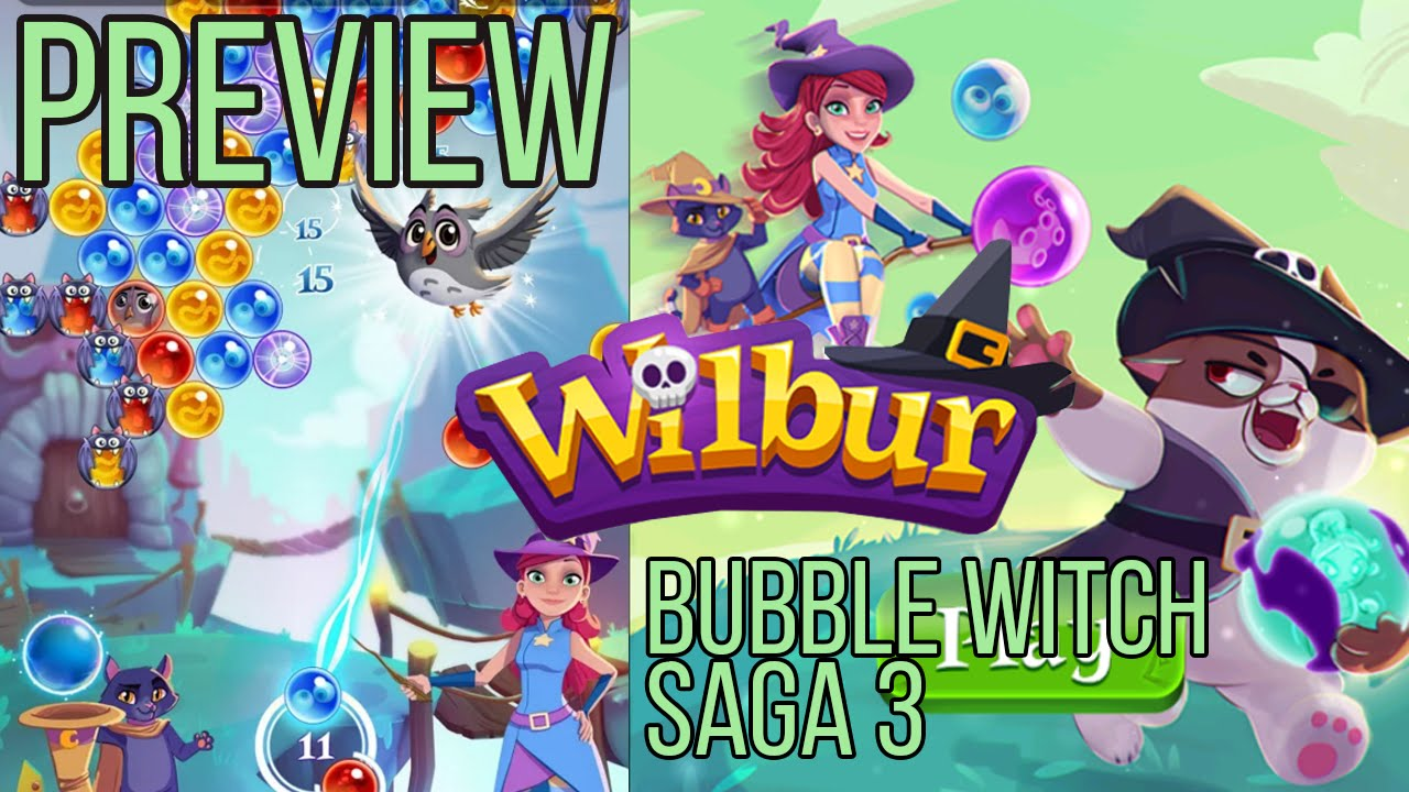 Bubble Wifch Saga 3 for download in Android 2019