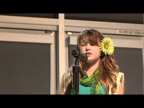 Alexa Cappelli sings National Anthem (Reflections Awards2011)