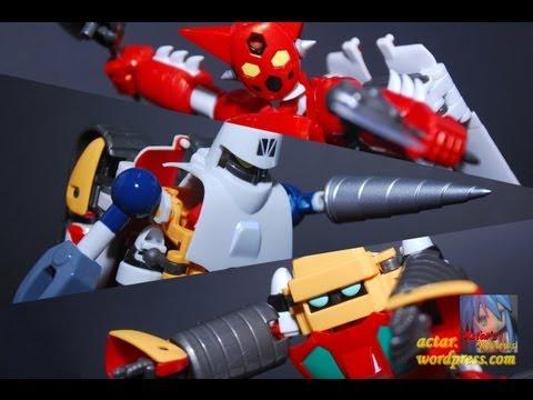 AFR - Dynamic Change Getter Robo Figure Review ダイナミックチェンジゲッターロボ