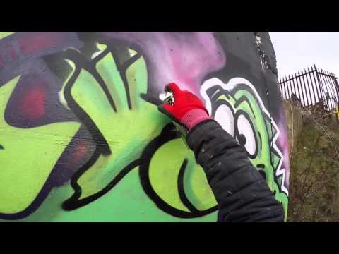 Graffiti - Apps EA - Raw Footage Can Control 2