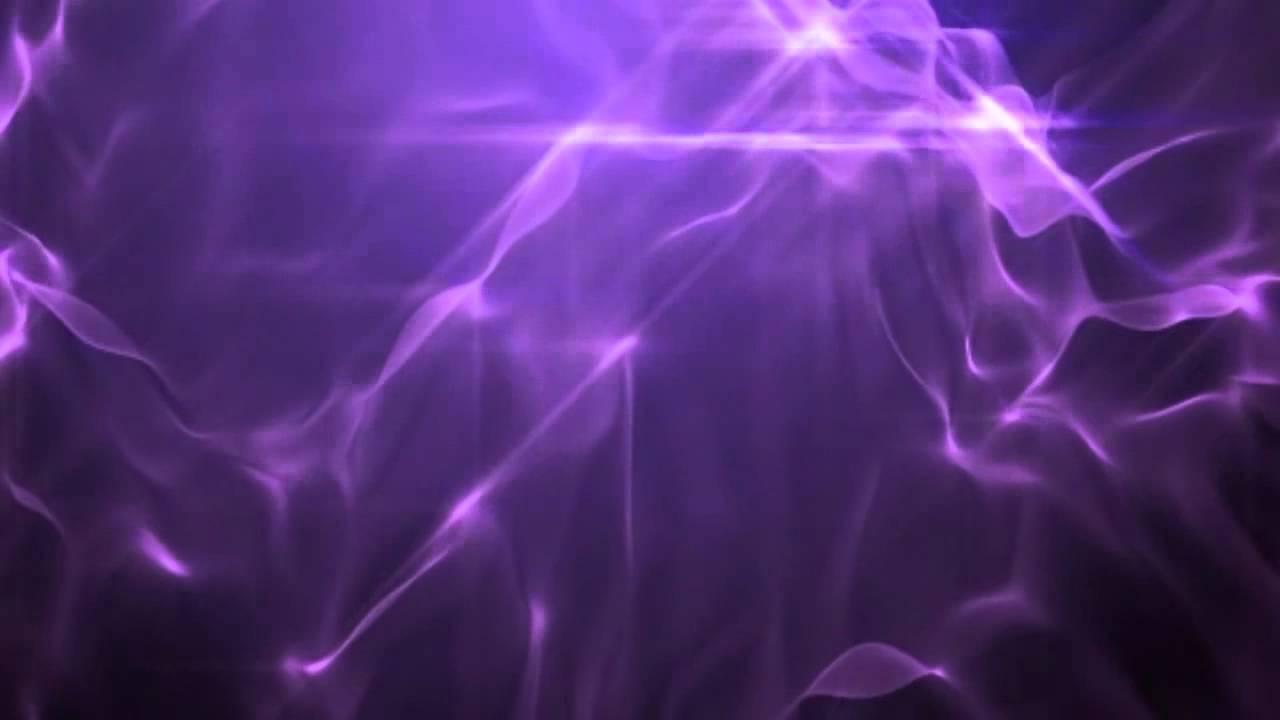 Purple Plasma Moving Background