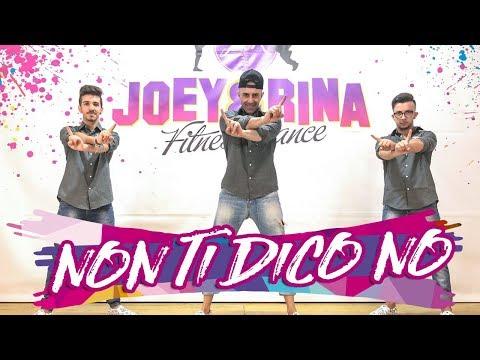 NON TI DICO NO Coreografìa Joey&Rina    TUTORIAL    Balli di gruppo 2018 Line Dance