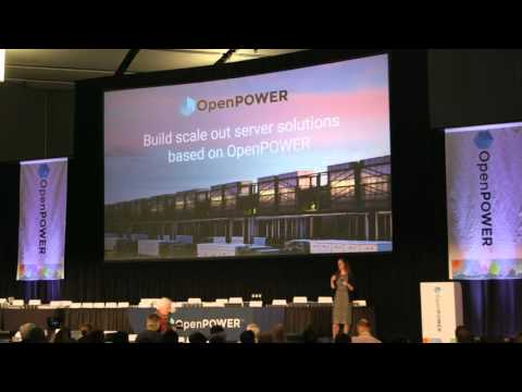 Google's Maira Mahony at OpenPOWER Summit