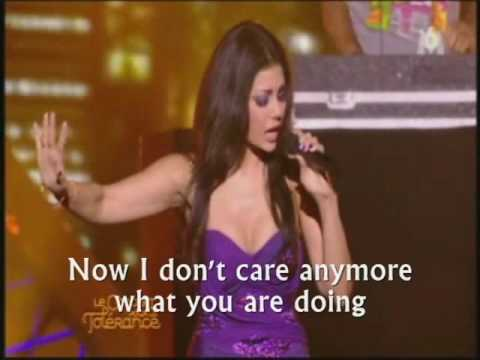 "Haifa Wehbe in Morocco ""I Will Survive"" English subtitles هيفاء وهبي قادره أعيش"