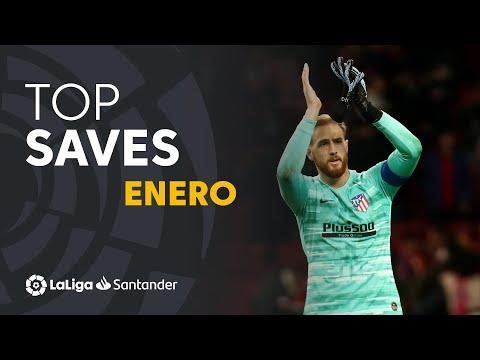 TOP Paradas Enero LaLiga Santander 2019/2020