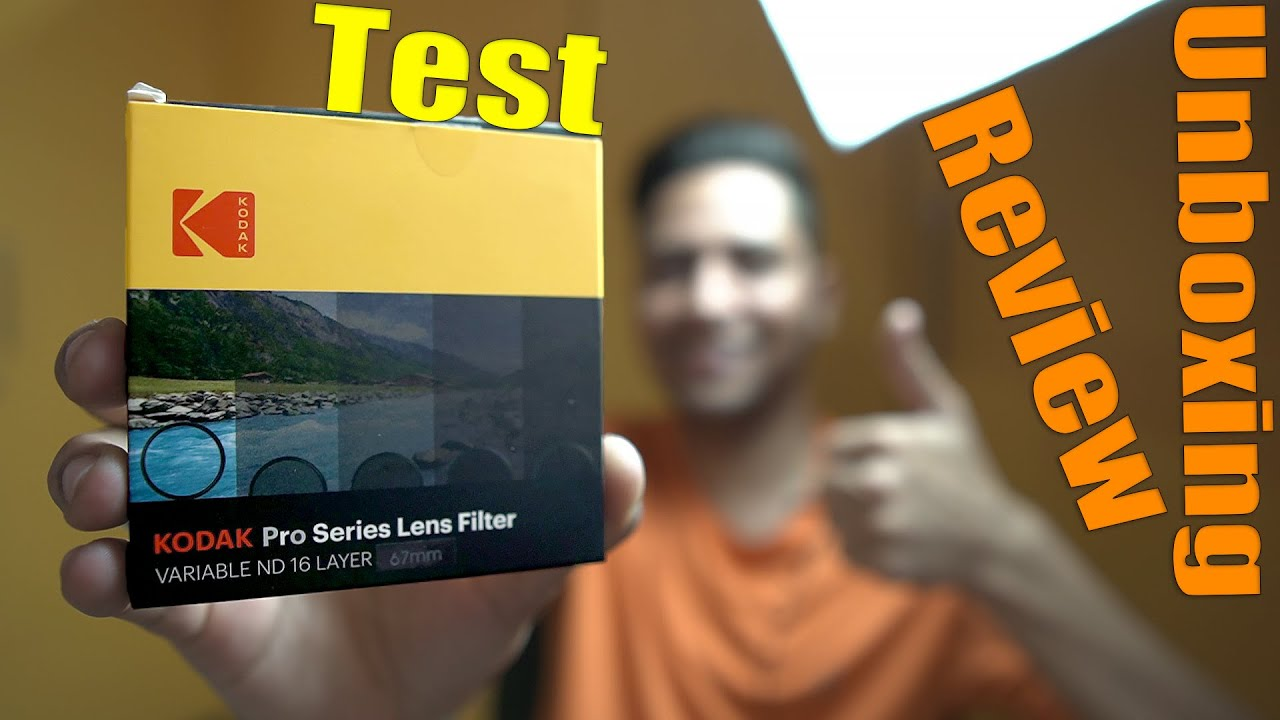 Kodak Variable ND Filter for ND2-ND2000 Unboxing Review & Complete Test in Hindi
