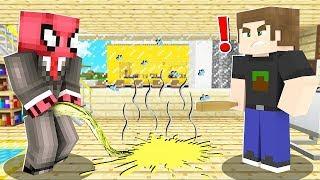 FAKİR EVİME ÇİŞ YAPTI! 😱 - Minecraft