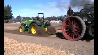 The Most Impressive Tractor Tug Of War Ever