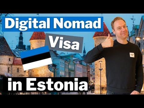 New Visa for Digital Nomads in Estonia 🇪🇪