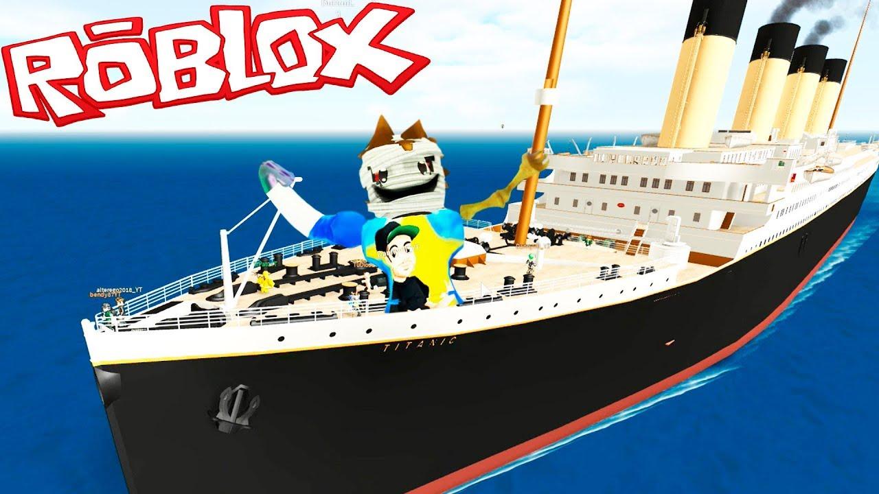 Que Se Hunde El Barco Parte 1 Survive Titanic Roblox Youtube - ahhh me ahogo en el titanic de roblox es casi imposible sobrevivir