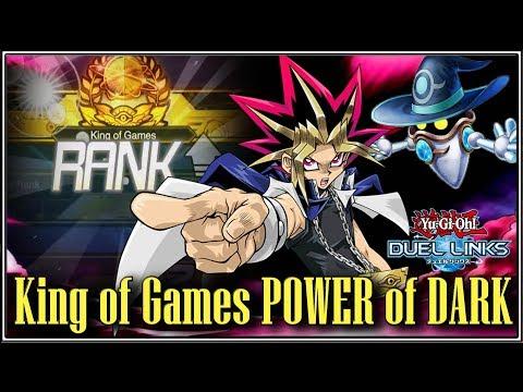 Anti-Meta King of Games (KOG) POWER OF DARK & Gem-Merchant!!!    YTDan    Yu-Gi-Oh! Duel Links