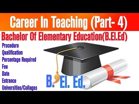 Bachelor of Elementary Education(B.El.Ed) full detail || by Informer Raj