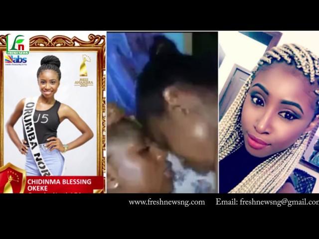 Chidinma Okeke, Miss Anambra & The Cucumber Scandal
