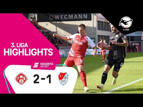 Wurzburger Kickers Turkgucu Munchen Goals And Highlights