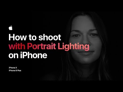 Thumbnail: How to shoot with Portrait Lighting on iPhone 8 Plus — Apple