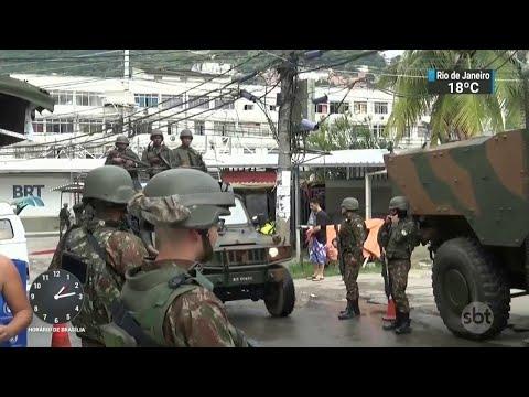 RJ: Polícia prende chefe de milícia que atua em Jacarepaguá | SBT Notícias (21/05/18)
