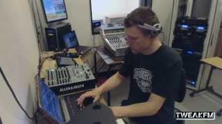 DJ Sven-R-G aka Tobias Balle-Petersen in TweakFM (Harthouse, Drop Bass Network, Fax)