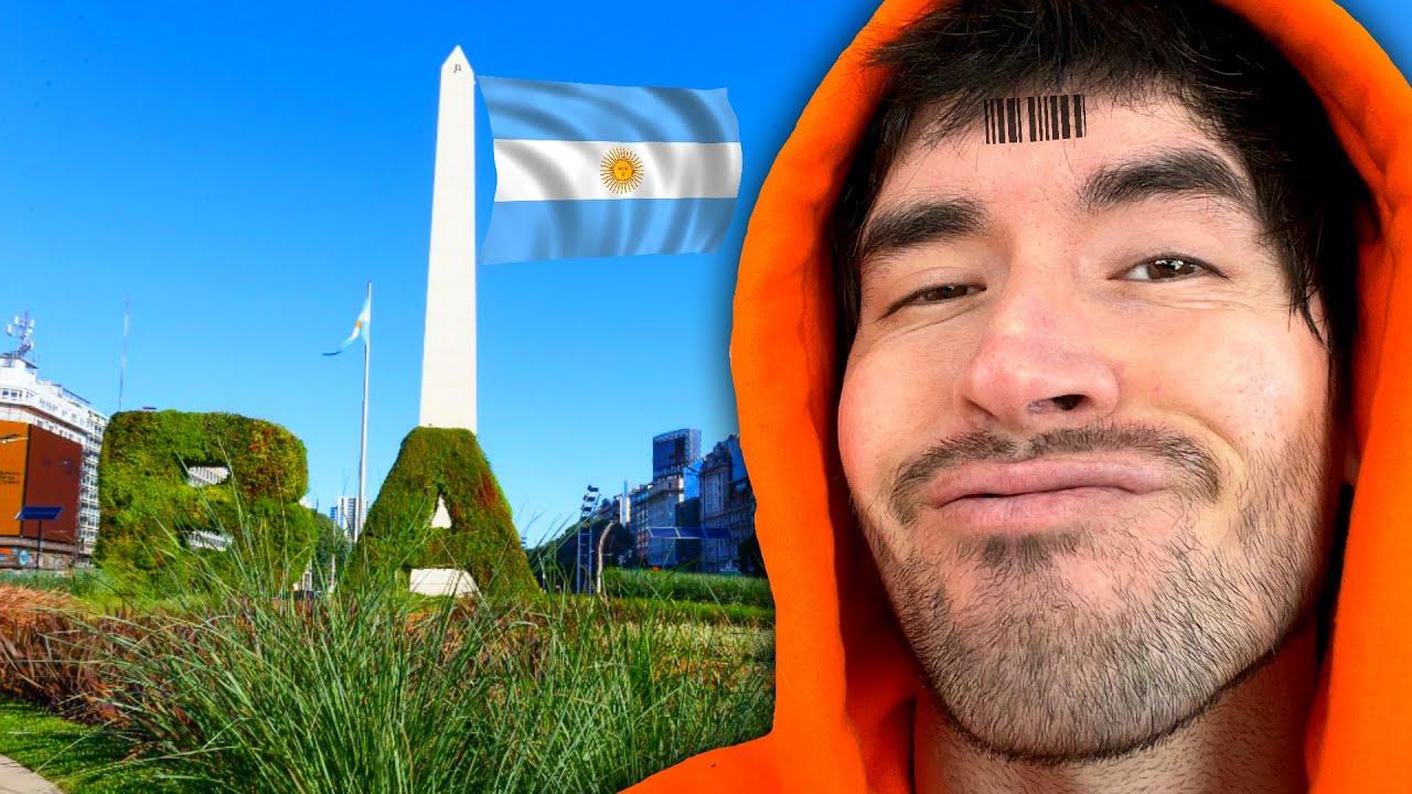 SEXY HOMBRE Hace De Las Suyas EN ARGENTINA