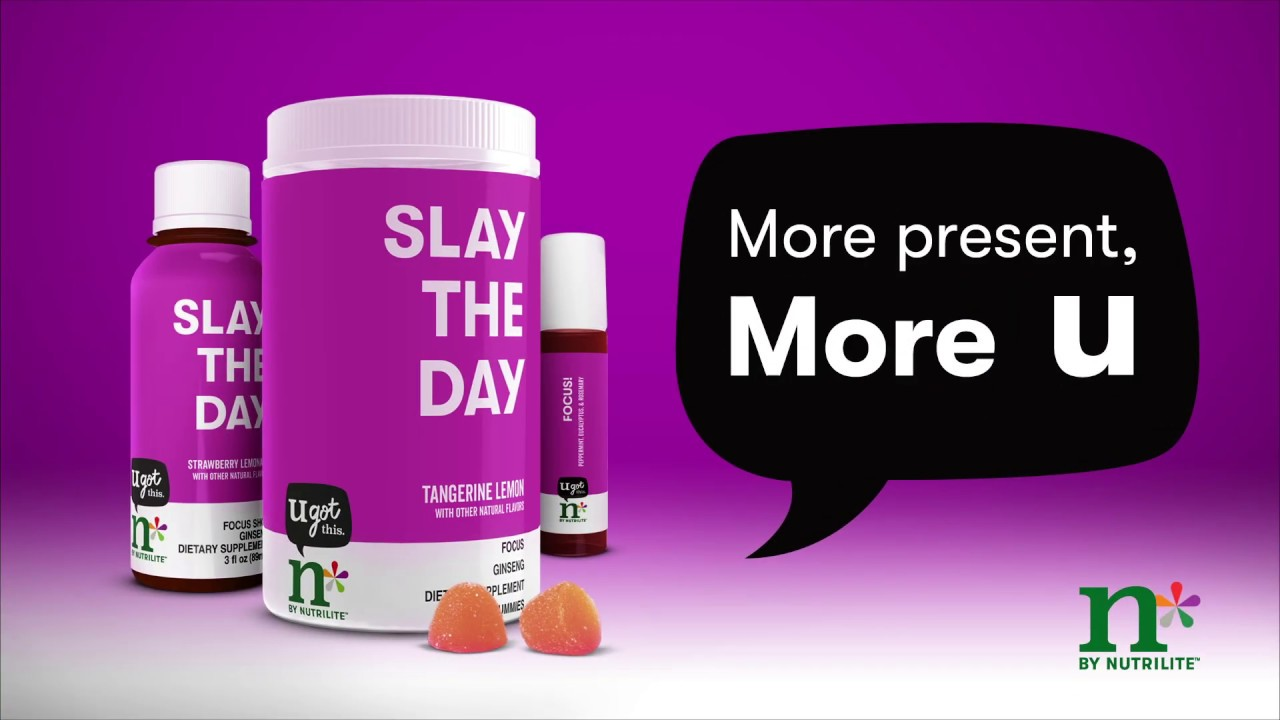 Slay the Day: Focus Gummies - n by Nutrilite   Amway