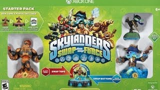Skylanders Swap Force Starter Pack Unboxing (Xbox One)