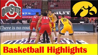 Iowa vs <b>Ohio State Basketball</b> Game Highlights 2 28 2021