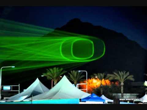 Nike Fiesta Bowl Laser Projections onto Camelback Mountain, Scottsdale AZ