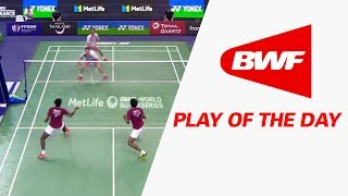 play of the day   badminton qf yonex french open 2017