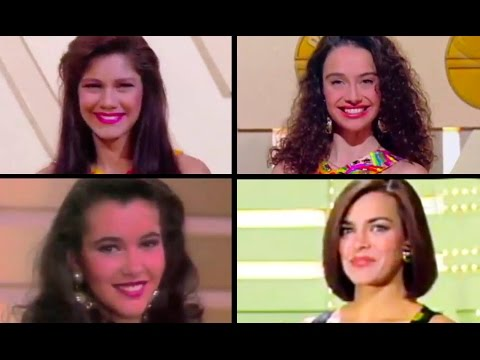 1991 Primera aparición en televisión de Ivonne Reyes, Beatriz Rico, Arancha del Sol y Eva Pedraza