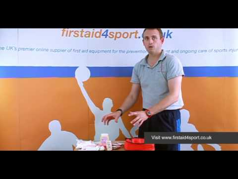 Firstaid4sport Essential Hockey First Aid Kit