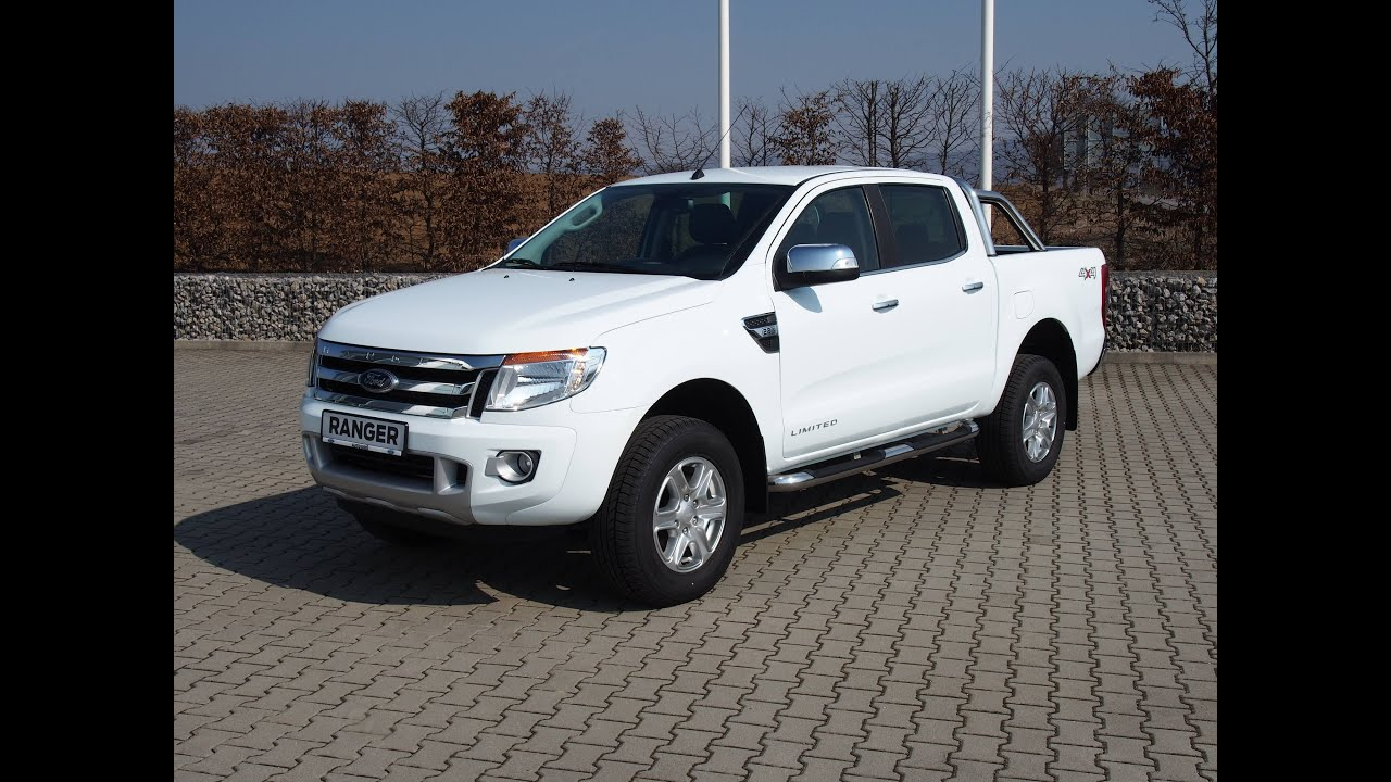 ford ranger limited frozen white youtube