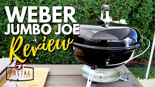 Weber Jumbo Joe Review - Best Portable Charcoal Grill Ever!
