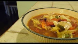 Venison Vegetable Soup Recipe for the Deer Camp or Home! Video